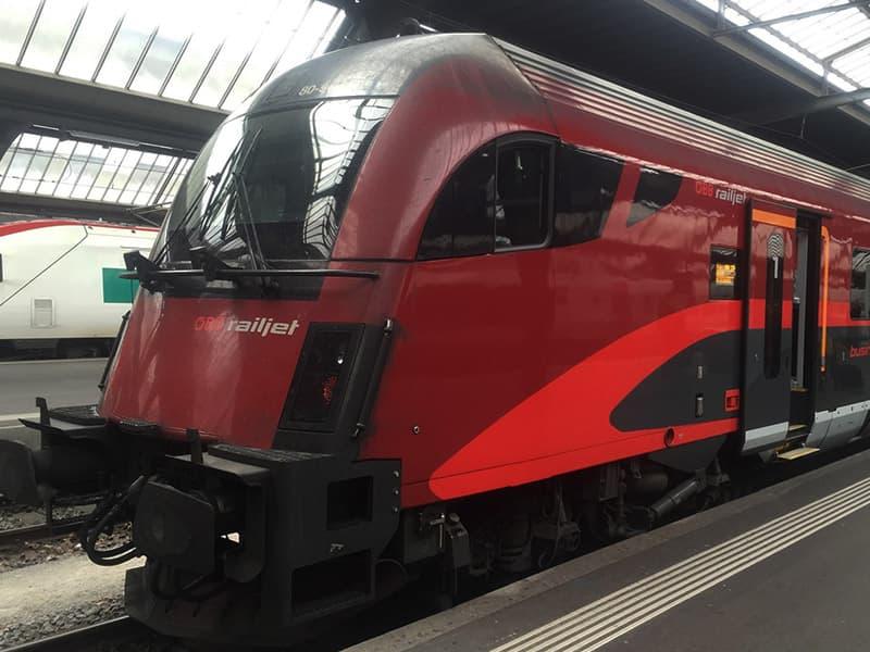 スイスの鉄道・列車種別について...